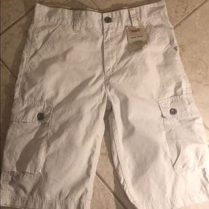 New Levi cargo shorts